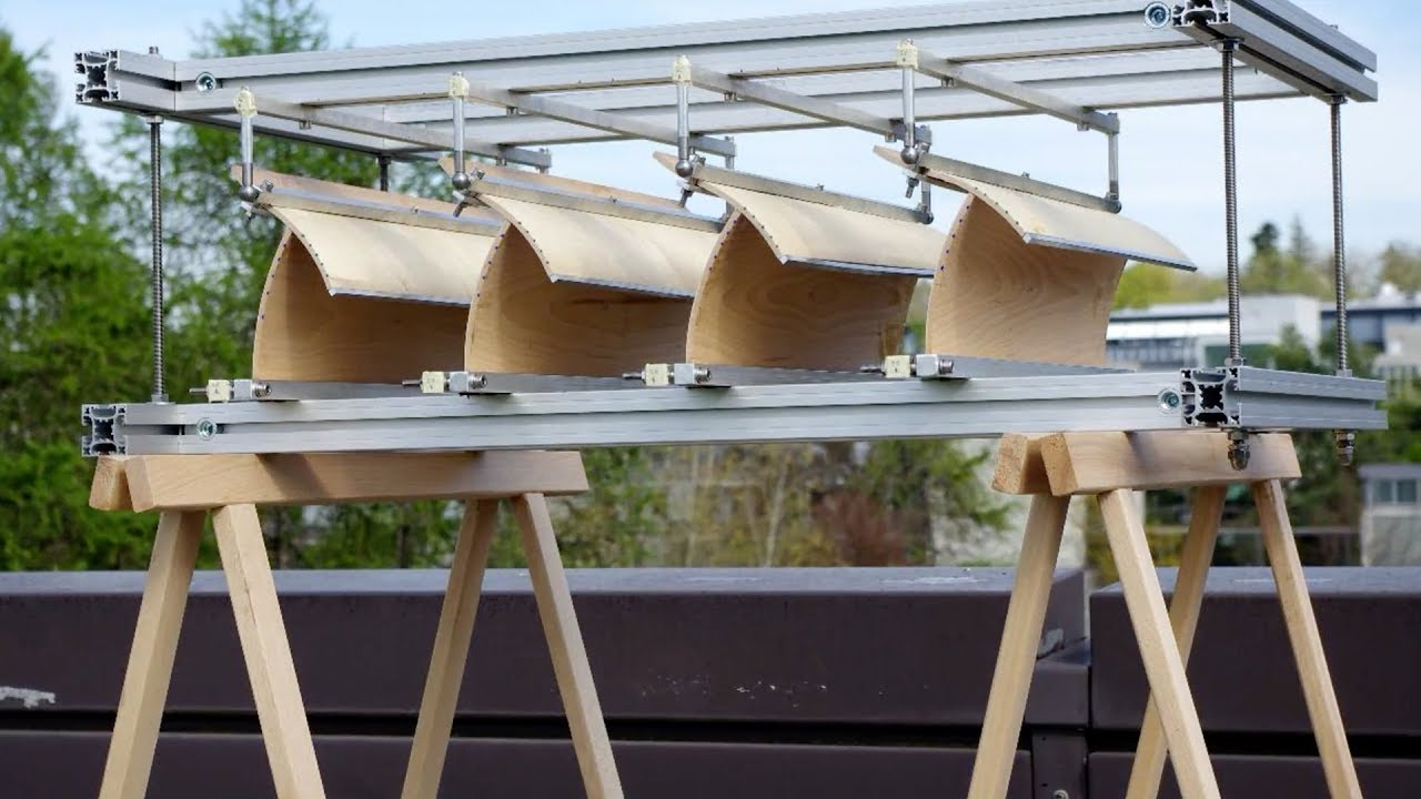 From pine cones to an adaptive shading system | ETH Zurich