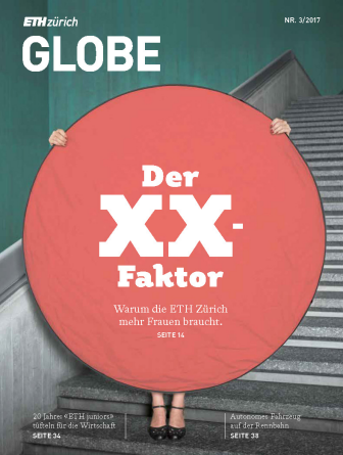 Cover Globe - das Magazin der ETH Zürich und der ETH Alumni