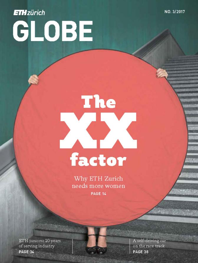 Cover Globe - Globe - the ETH Zurich and ETH Alumni magazine