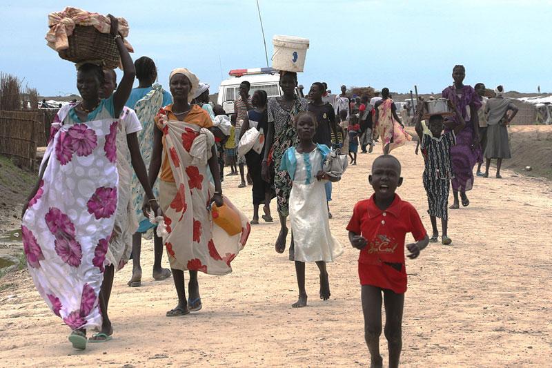 Internally displaced in Bentiu