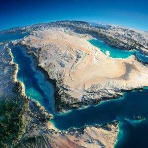 Near East Arabian Peninsula Gulf-of-Aden Saudi Arabia
