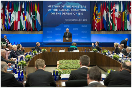 Meeting of global coalition against ISIS