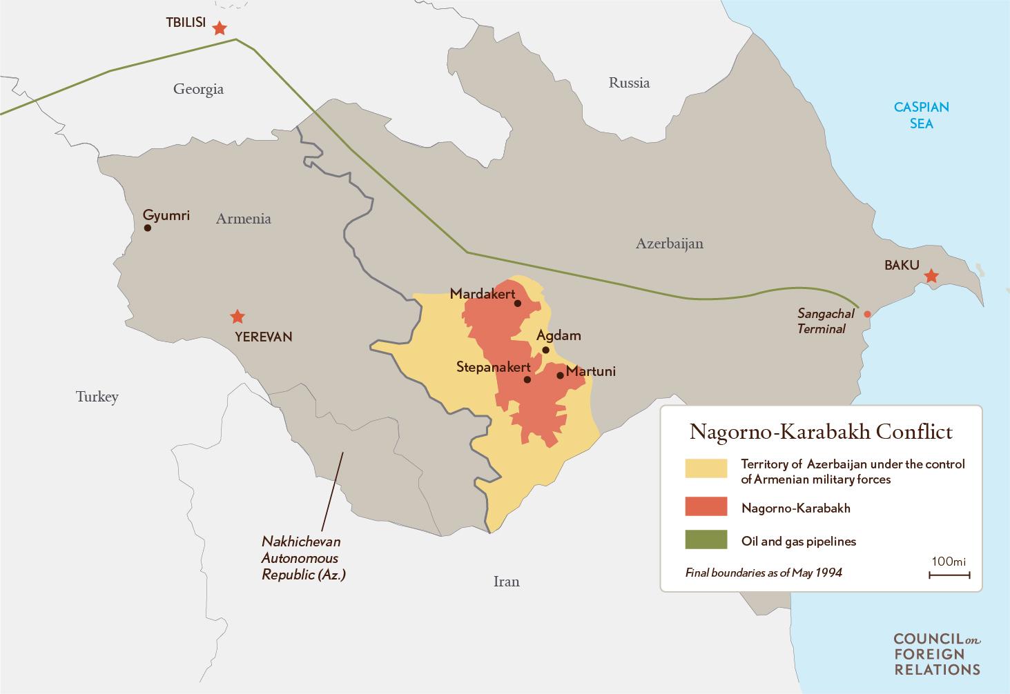 Nagorno Karabkah Conflict