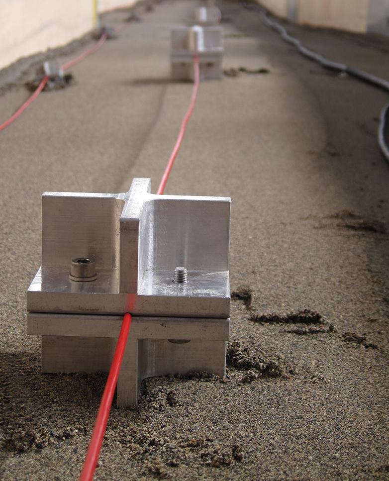 Soil Displacement Monitoring Using Fiber Optic Strain