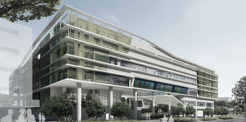 vision of an energy-efficient office building