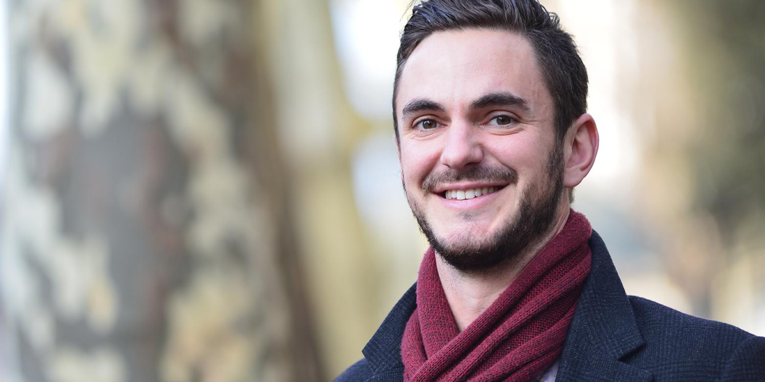 Ökologe Tom Crowther. (Bild: ETH Zürich / Peter Rüegg)