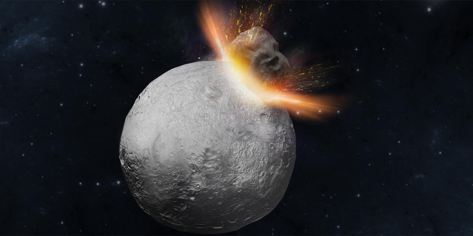 Steinige Botschafter Vom Asteroid Vesta Eth Zürich