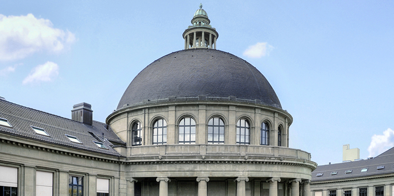The cupola of ETH Zürich (Photo: Josef Kuster)