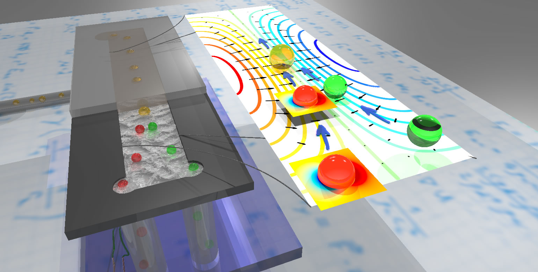 illustration of ultrasonic chip
