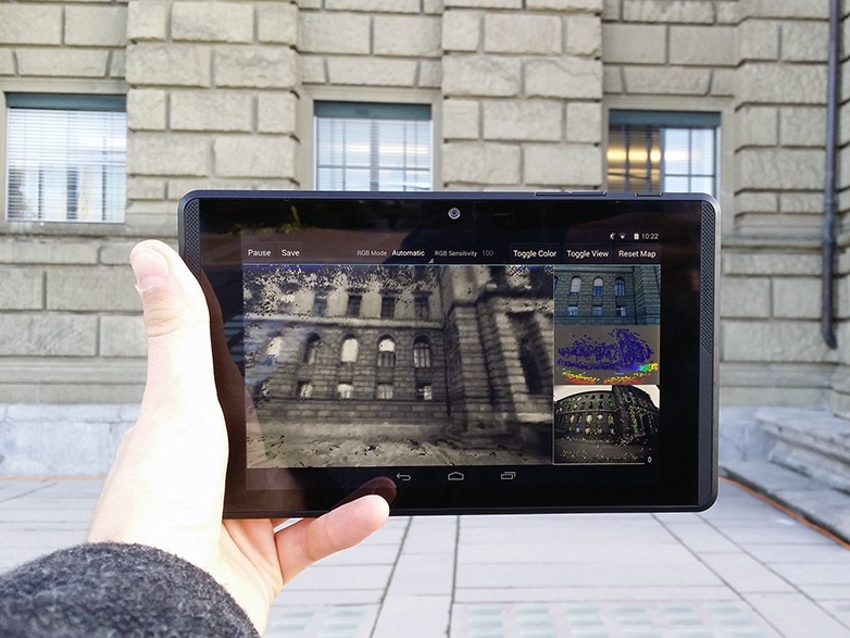 3D mapping of entire buildings with mobile devices   ETH Zurich