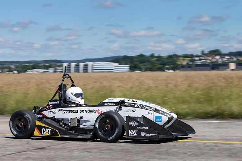 Amz Grimsel Electric Race Car