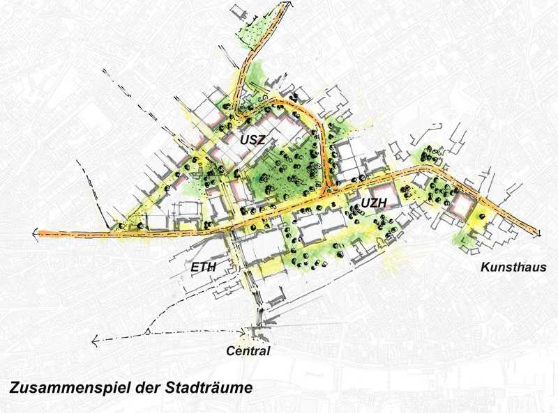 An opportunity for the university district and ETH Zurich ETH Zurich