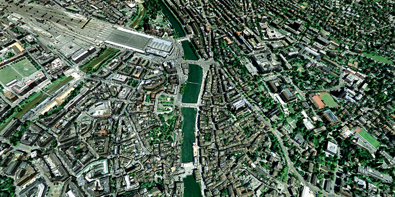 City model created from images alone | ETH Zurich