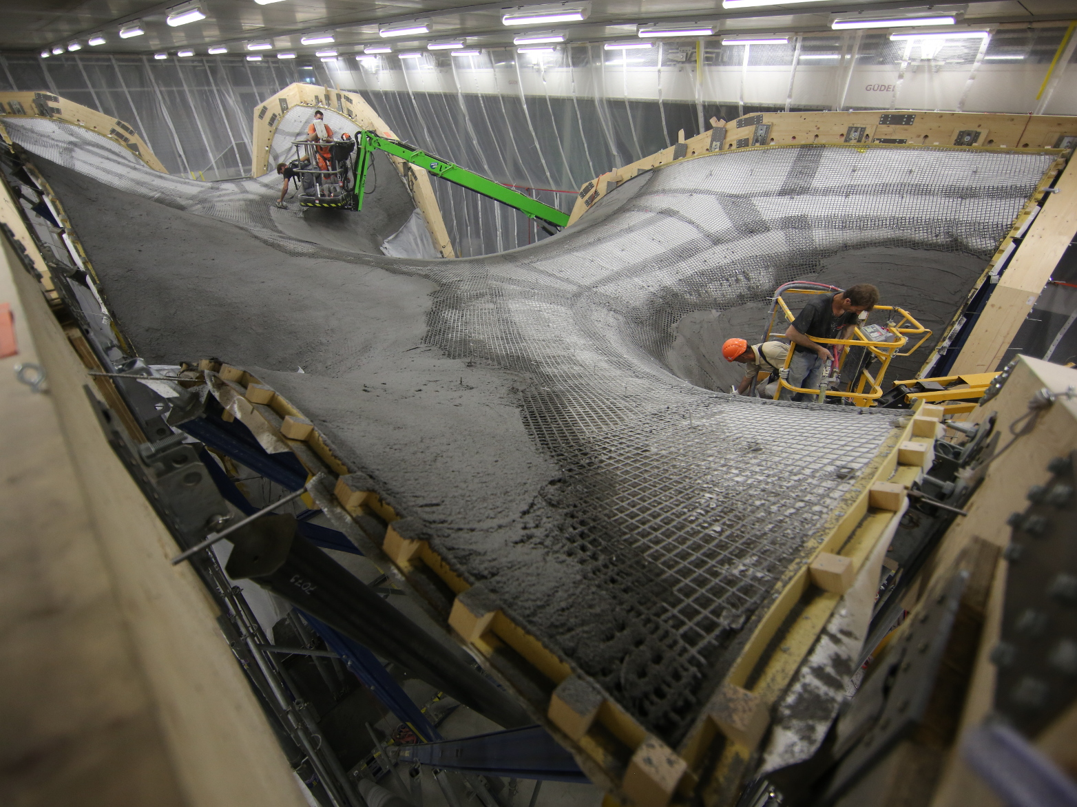 Construction prototype for ultra-thin concrete roof | ETH Zurich