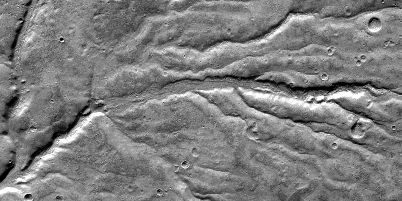 Mars valleys traced back to heavy rainfall | ETH Zurich