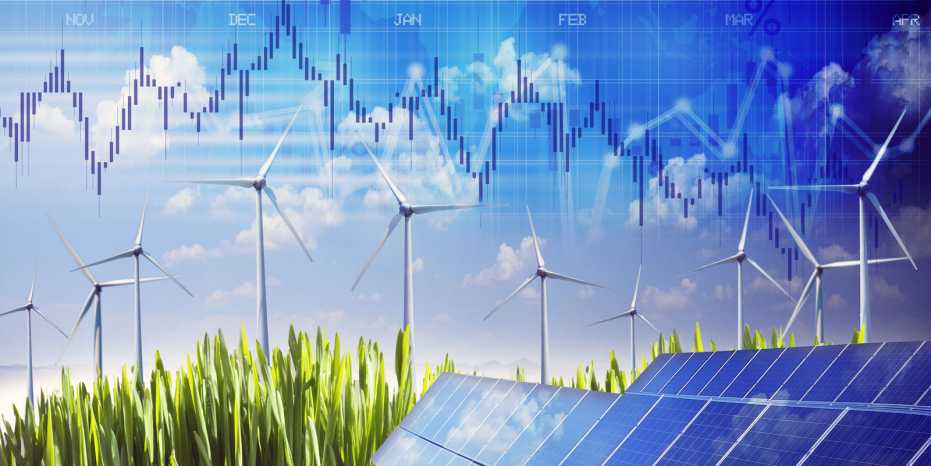 As renewable energy is more capital-intensive than fossil fuels, the costs rise more sharply with rising interest rates, making it less attractive. (Image: Shutterstock)