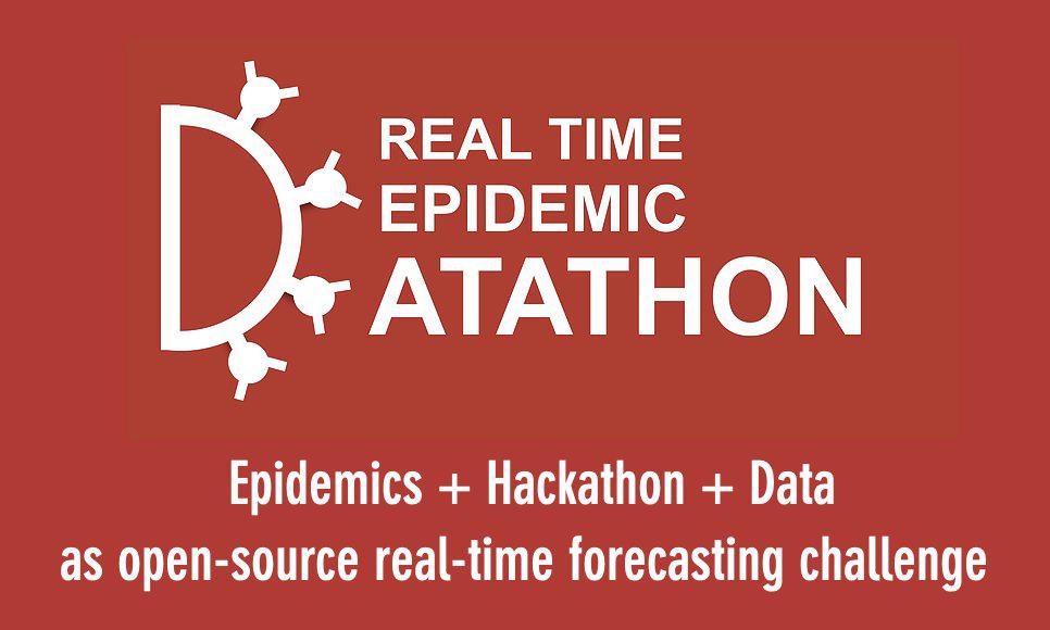 "Visual des Datathon ""real time epidemic datathon"""