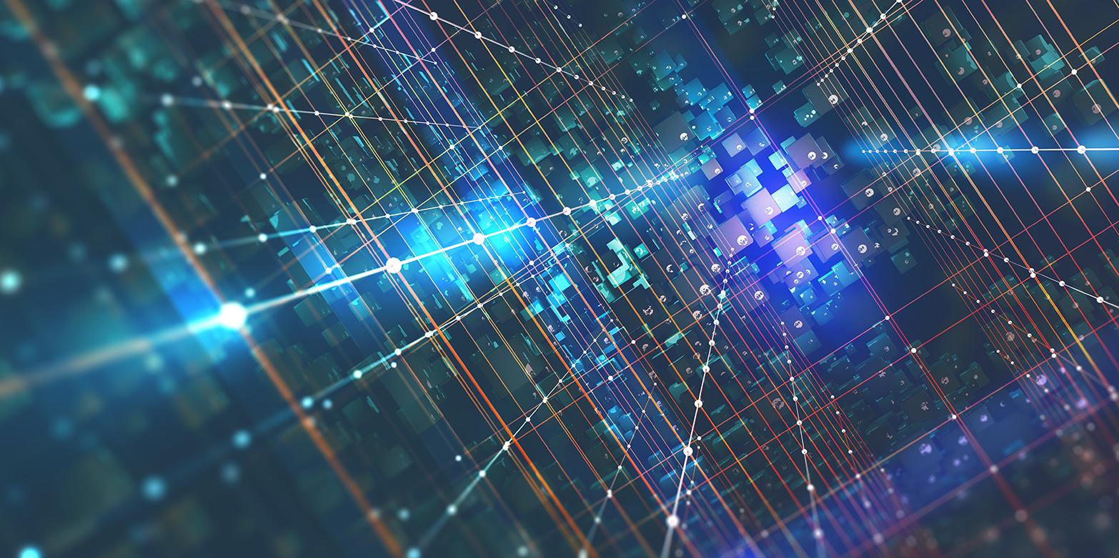 Illustration Computer Network