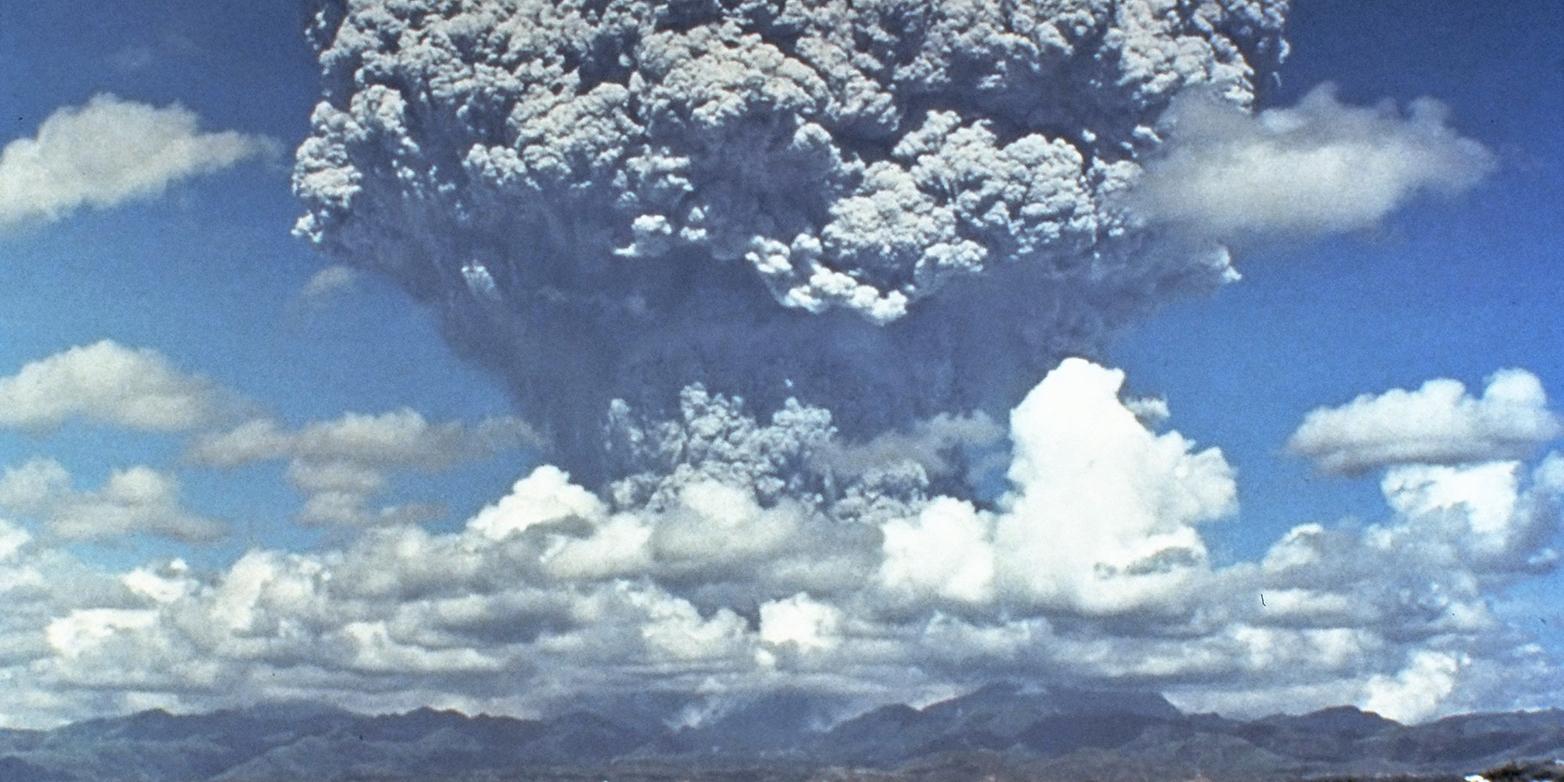eruption of Mount Pinatubo in June 1991