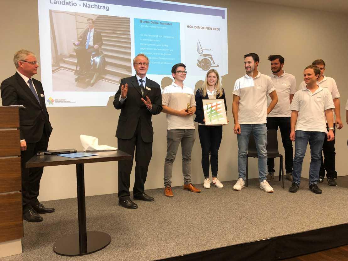 Innovation award for Scewo | ETH Zurich